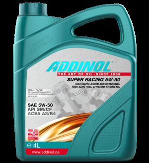 Addinol Super Racing 5W-50 / 4 Liter