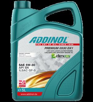 Addinol Premium 0530 DX1 5W30 Dexos 1 Gen 2 / 5 Liter