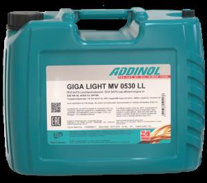 Addinol Motoröl 5w30 Giga Light MV 0530 LL / 20 Liter