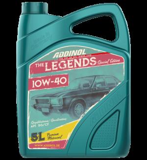 Addinol Oldtimer Öl Legends 10w40 / 5 Liter