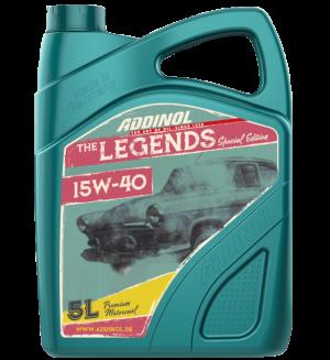 Addinol Oldtimer Öl Legends 15w40 / 5 Liter